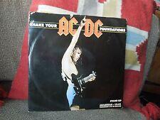 "AC/DC Shake Your Foundations RARE 12"" Single"