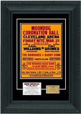 1952 Moondog Coronation Ball POSTER+TICKET 1st EVER rock concert Alan Freed