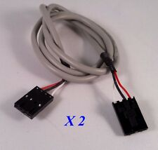 Audio cable, Lot of 2 CD Rom/DVD audio cable MPC2  black connectors