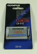 NEW OLYMPUS 3V BATTERIES CAMEDIA LB-01E CR-V3