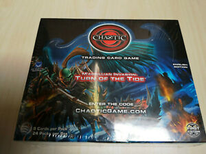 Chaotic TCG Marrillian Invasion: Turn of the Tide Booster Box Display  1.Edition