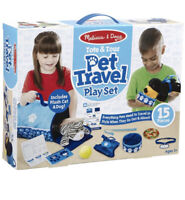 NEW Melissa & Doug Tote & Tour Pet Travel Play Set 15 Pieces