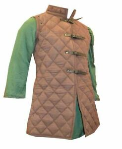 MEDIEVAL COSTUMES DRESS AKETON COAT ARMOR COTTON GAMBESON VEST PADDED FOR GIFT