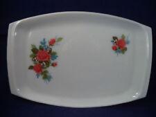 Britain Platter White Pyrex Glassware