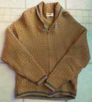 VTG 50's Puritan Wool Shawl Collar Full Zip Cardigan GRUNGE, Elvis, Rockabilly