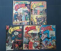 Cheyenne Kid Comic Books Charlton Publications Silver Age Lot Of 5