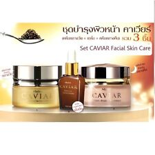 Set Caviar Extreme Concentrate Serum Day Cream Night Repair Anti Aging wTracking