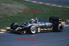Elio de Angelis JPS Lotus 94T europeo Grand Prix 1983 fotografía 1