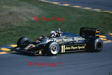 Elio De Angelis JPS Lotus 94T European Grand Prix 1983 Photograph 1
