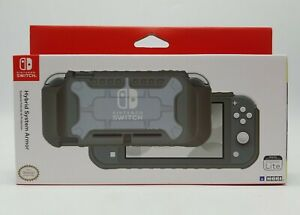 HORI - Hybrid System Armor for Nintendo Switch Lite (Gray) Brand New in Box