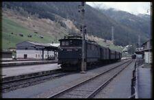 35mm slide+© ÖBB Österreichische Bundesbahnen 1670.26 St. Anton Austria 1981 ori