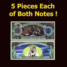 SET USA Fantasy 10 notes (5 pieces of each note) Jesus, Christmas, Angels