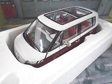 VW VOLKSWAGEN BUS CAMIONNETTE étude CONCEPT PROTOTYPE red cream Sonderpr. NOREV 1:18