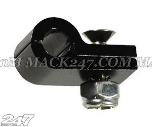 """Billet Aluminium P-Clamp 1/2"""" I.D (Suits 1/2"""" Hardline) braided hose fuel bosch"""