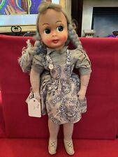 "1941 ""Abby� poeceline face vintage doll very rare"