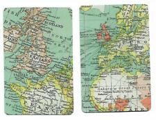 MAP MAKING(CARTOGRAPHY) X 2  ONLY  SINGLE VINTAGE  PLAYING/SWAPCARDS
