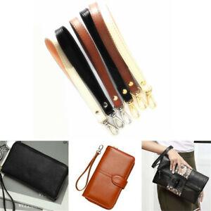 Leather Wristlet Wrist Bag Hand Strap Replacement For Clutch Purse Handbag Bag