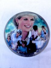 "Franklin Mint Princess Diana Mother Above All "" Schuberts Lullaby "" Music Box"
