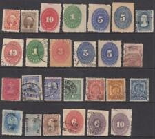 Mexico 19th Century Collection 25 diff stamps