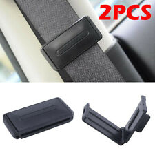 Auto Car Seat Belt Stopper Buckle Improves Comfort Safety Adjuster Clips LC