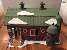 Heritage Village Collection New England Series Penn Dutch Barn Christmas #59480