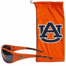 Auburn Tigers Wrap Sunglasses with Microfiber Bag NCAA Licensed Eyewear
