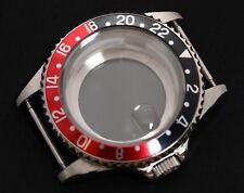 GMT Coke Watch Case Fits Movements  Miyota 8215  ST1612 Shanghai RK-4D Movement