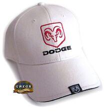 Dodge Ram Hat Cap Bone