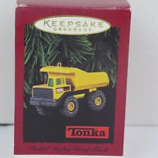 Hallmark Keepsake Ornament Die Cast Metal TONKA MIGHTY DUMP TRUCK 1996