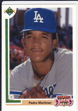 Pedro Martinez 1991 Upper Deck FINAL Edition ROOKIE CARD Baseball Dodgers RC!