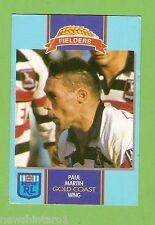 #D177.  1993 FIELDERS RUGBY LEAGUE CARD - PAUL MARTIN, GOLD COAST