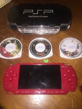 Sony PSP God Of War Red Edition NO BATTERY READ DESCRIPTION