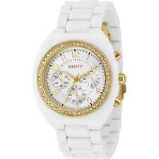 DKNY  NY4784 White Polycarbonate Analog Quartz Women's Watch