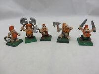 Warhammer Dwarf Slayers metal army lot metal oop kow kings war