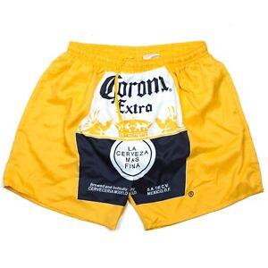 Corona Beer Swim Trunks   XL