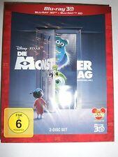 Die Monster AG 3D Blu-ray Erstauflage Pappschuber OOP Neu&OVP