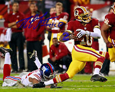"Robert Griffin III NFL Washington Redskins 10x8"" Hot! Signed Color PHOTO REPRINT"