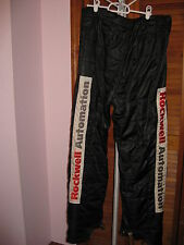 RARE Sparco Denny Hamlin #11 Rockwell Automation Crew Firesuit Pants Race Worn