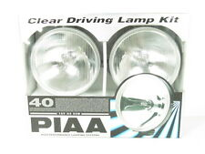 PIAA 40 Series Round Style Clear Halogen Driving Lamp Kit Fog Lights 4062 NEW
