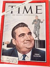 Time Magazine Pierre Salinger Senate Races October 16, 1964 050517nonrh