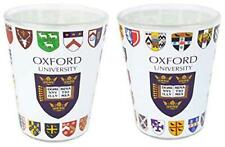 Licensed Official Set of 2 Oxford University Shot Glasses in Gift Box