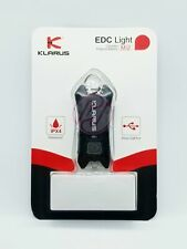 Klarus Mi2 40lm USB Rechargeable Infinitely Brightness Keychain Torch - Black