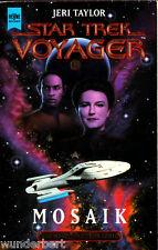 """Jeri Taylor - """" Star Trek Voyager 11 - MOSAIK """" (1999) - tb"""