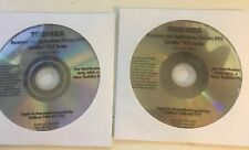 Toshiba Laptop Notebook Satellite P15 Series OEM lot 2 Recovery DVD Discs 2003