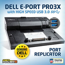 DELL Docking Station M2800 M4400 M4500 M4600 M4700 E-Port Replicator USB 3.0