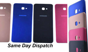 OEM Rear Back Battery Cover Glass Door Housing For Samsung Galaxy J4+ Plus J415