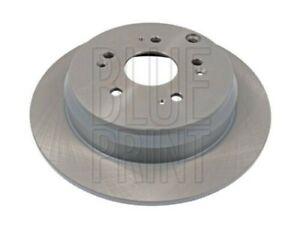 2x Brake Discs Pair Solid fits HONDA CR-V RD9 2.2D Rear 05 to 06 N22A2 305mm Set