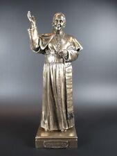 Papst Franziskus Pope  24 cm bronzierte Figur,Veronese Kollektion