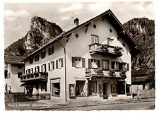 Oberammergau Germany RPPC Postcard Haus L Holdrich Posted 1960 Black White Photo