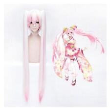 Cosplay Vocaloid SAKURA MIKU Anime Manga Perücke Wig L:120cm Neu